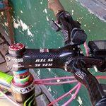 RXL SL Carbone Potence de Guidon Cyclisme sur Route Course Vélo VTT Ville 6/17 Degré 70/80/90/100/110/120mm Noir de la marque image 5 produit