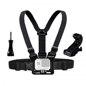 Sametop Harnais Poitrine Sangle Torse Réglable Chesty Mount pour GoPro Hero 6, 5, 4, Session, 3+, 3, 2, 1 Caméras Sport de la marque image 0 produit