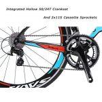 SAVA Vélo de Route de T800 Fibre de Carbone velo de course homme Shimano 105 5800 22 Vitesses Système de la marque image 4 produit