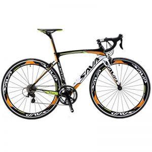 SAVA Vélo de Route de T800 Fibre de Carbone velo de course homme Shimano 105 5800 22 Vitesses Système de la marque image 0 produit