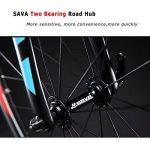 SAVA Vélo de Route de T800 Fibre de Carbone velo de course homme Shimano 105 5800 22 Vitesses Système de la marque image 5 produit