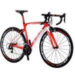 SAVADECK HERD 6.0 700C Vélos de Route T800 Fibre de Carbone Cadre 22 Vitesses SHIMANO 105 5800 HUTCHINSON 25C Pneu et Fizik selle ultraléger 18.3 lbs de la marque image 1 produit