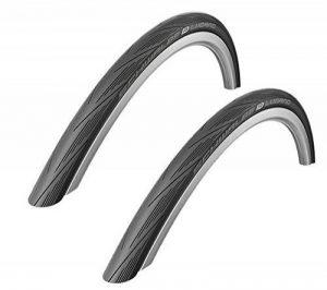 Schwalbe Lugano Lot de 2 pneus de vélo de route Noir 700x 28c de la marque image 0 produit