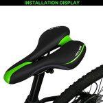 Selle de vélo confortable West Biking pour vélo de montagne pour homme de la marque image 5 produit