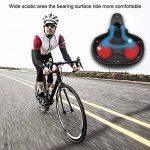 """Selle de vélo ergonomique, siège de vélo LASUAVY avec ressort antichoc et système de mousse de poinçonnage, coussin de vélo VTT pour vélo de croisière / vélo de route / vélo de randonnée / VTT, L 9.84 """"/ W 7.87"""" / H 2.36 """" de la marque image 6 produit"""