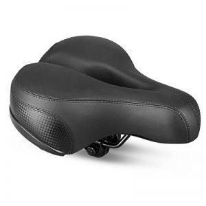 Selle Vélo Siège de Vélo Confortable Avec Creux Coussin Respirant Rembourrage en Mousse Siège Vélo/VTT avec Bande Réfléchissante Bike Seat Saddle Bicyclette Cyclisme de la marque image 0 produit