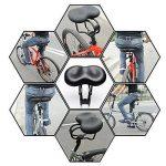 Selle VTT Conception Antichoc - Selle Vélo de Route Cushion Large Selle VTT - Selle de Bicyclette Vélo - Convient pour les Sièges de Vélos Ordinaire et les Vélos de Route - Vendu Par Hokonui de la marque image 5 produit