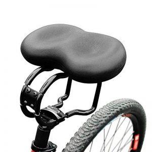 Selle VTT Conception Antichoc - Selle Vélo de Route Cushion Large Selle VTT - Selle de Bicyclette Vélo - Convient pour les Sièges de Vélos Ordinaire et les Vélos de Route - Vendu Par Hokonui de la marque image 0 produit