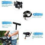 Shayson Siège arrière matelassé de vélo avec dossier pour enfant de la marque image 4 produit