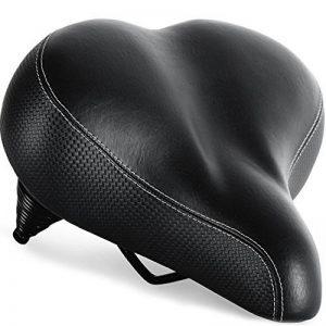 Siège de vélo le plus confortable pour Personnes âgées - Selle de Vélo Très Grande et Rembourrée pour Confort Hommes et Femmes - Selle Universel de Vélo de la marque image 0 produit