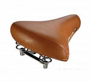 sillin de vélo poussette City Suspension Ressorts Eco cuir marron clair 3870MCL de la marque image 0 produit