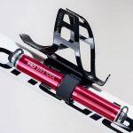 Super Mini pompe pour vélo de route par Pro Vélo Outil–Haute Pression–120PSI–fiable, Compact et léger–Compatible Presta et Schrader–de qualité supérieure & Performance–Idéal pour BMX et pour pneus de vélo rouge Rouge de la marque image 5 produit