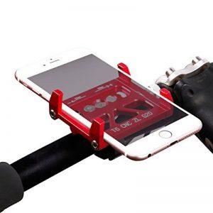 Supports de téléphone de vélo, West Biking support de vélo pour VTT Route Guidon Accessoires Compatible avec iOS iPhone 7Plus 6S Android Galaxy S7S6S5Smartphone, Enfant Homme femme, Red de la marque image 0 produit