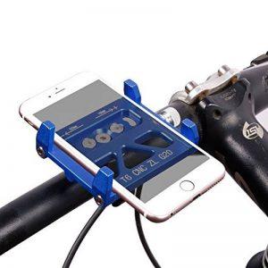 Supports de téléphone de vélo, West Biking support de vélo pour VTT Route Guidon Accessoires Compatible avec iOS iPhone 7Plus 6S Android Galaxy S7S6S5Smartphone, Enfant Homme femme, bleu de la marque image 0 produit