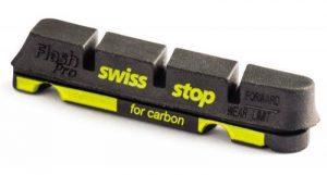 Swiss Stop Flash Pro Patins de frein compatible Shimano/sram Noir de la marque image 0 produit