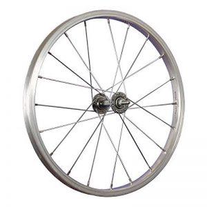Taylor Wheels 18 pouces roue avant vélo moyeu aluminium Nirosta 355-19 argent de la marque image 0 produit