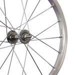 Taylor Wheels 18 pouces roue avant vélo moyeu aluminium Nirosta 355-19 argent de la marque image 1 produit