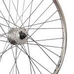 Taylor Wheels 28 pouces roue avant YAK19 moyeu dynamo DH-C3000 622-19 argent de la marque image 1 produit