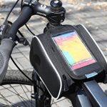 Tofern bicicletta ciclismo vélo de sac de trame haut sac de tube beau pochette pour téléphone spéciale pour l' iPhone HTC LG Lumia Sony Samsung Nexus et autre smartphone jusqu'à - 5 pouce de la marque image 1 produit