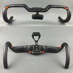 toseek Aero élever en fibre de carbone Style de course avec support pour guidon pour vélo de route de la marque image 2 produit