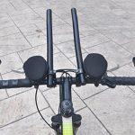 Upanbike VTT Route de vélo en alliage d'aluminium TT Guidon Triathlon Aero Rest Barre Clip on Time Trial Barre de la marque image 4 produit