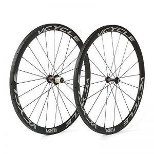 VCYCLE 700C Carbone Course de Vélo de Route Roues 38mm Tubulaire UD Mat Shimano ou Sram 8/9/10/11 Vitesse de la marque image 0 produit