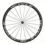 VCYCLE 700C Carbone Vélo de Course Paire de Roues Route 38mm Tubulaire Ultra Léger Tir Droit 23mm Largeur Seule 1240g Shimano ou Sram 8/9/10/11 Vitesse de la marque image 1 produit