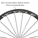 VCYCLE Fibre de Carbone Vélo de Course Route Roues 50mm Clincher Pneu Largeur 23mm 1700g Shimano ou Sram 8/9/10/11 Vitesse de la marque image 2 produit