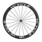 VCYCLE Fibre de Carbone Vélo de Course Route Roues 50mm Clincher Pneu Largeur 23mm 1700g Shimano ou Sram 8/9/10/11 Vitesse de la marque image 1 produit