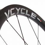VCYCLE HALO 40mm Fibre de Carbone Course Route Vélo Wheelset 700C en Vélo Roues Clincher Largeur 25mm U Forme Shimano ou Sram 8/9/10/11 Speed. de la marque image 3 produit
