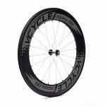 VCYCLE Nopea 700C 88mm Ensemble de Roues de Vélo de Route en Carbone Pneu pour Shimano ou Sram 8/9/10/11 Vitesses de la marque image 1 produit