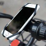 Vélos de Silicone Elastique Bracelet en Caoutchouc Bandage Pour Universel VéLo, Guidon de Moto, Convient à Tous Les Ios,Android Téléphone Intelligent, GPS Autres Appareils (Rouge & Blanc & Noir) de la marque image 3 produit