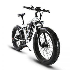 VTT Vélo électrique Hybride Homme de Montagne Extrbici XF800 1000W 48V 13A Support de Charge USB avec Suspension Complète LCD Intelligent & Gros Pneu 26 x 4.0 Noël de la marque image 0 produit