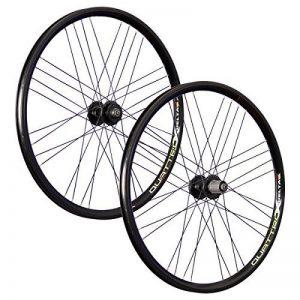 VUELTA 26 pouces ensemble roues vélo Airtec1 JoyTech Disc 6 trous 559-21 noir de la marque image 0 produit