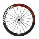 WINDBREAK BIKE 700C 50mm Clincher Full Carbon Fiber Spoke Bicycle Wheel with Matte finish de la marque image 2 produit