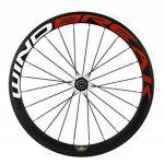WINDBREAK BIKE 700C 50mm Clincher Full Carbon Fiber Spoke Bicycle Wheel with Matte finish de la marque image 3 produit