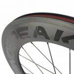 WINDBREAK BIKE 88mm Carbon Clincher Wheelset 700c Road Bike Wheel 23mm Width de la marque image 4 produit